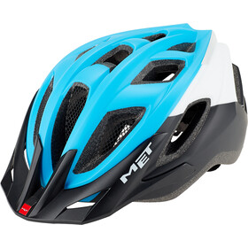 MET Funandgo Kask rowerowy, light blue/black